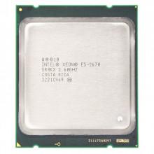 БУ Процессор Intel Xeon E5-2670 (s2011/8x2.6GHz/8GT/s/20MB/115Вт/BX80621E52670)