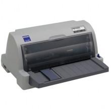 БУ Принтер матричный A4 Epson LQ-630, 24 игл, 300 знаков/сек, USB, LPT