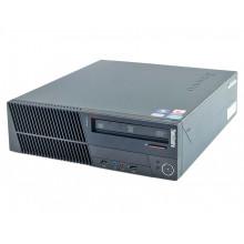 БУ Компьютер Lenovo ThinkCentre M81 SFF, Intel Core i3-2100 (3.1 ГГц), 4Gb DDR3, SSD 60Gb