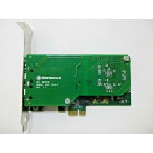 БУ Плата IP-телефонии PCI-e Sangoma A102 (2006) single port T1/E1