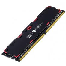 БУ Оперативная память 4 ГБ, DDR4, Goodram IRDM Black (для настольных ПК, 2400 МГц, 1.2 В, CL15)