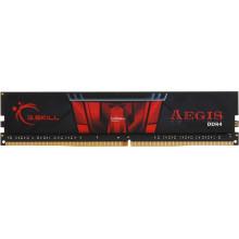 БУ Оперативная память 4 ГБ, DDR4, G.SKILL Aegis (для настольных ПК, 2400 МГц, 1.2 В, CL15)