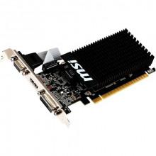 БУ Видеокарта MSI PCI-Ex GeForce GT 710 2GB DDR3, 64 бит, 954/1600 МГц, VGA, DVI, HDMI