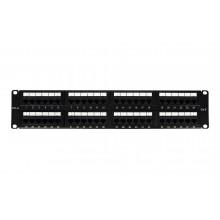 БУ Патч-панель 48 портов, 2U OK-Net, Cat.6, UTP (OK-PP202-6U48)