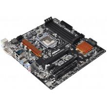 БУ Материнская плата s1151, ASRock B150M Pro4S/D3 (4xDDR4, Intel B150, PCI-Ex16x2, VGA, DVI, HDMI, m