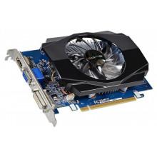 БУ Видеокарта Gigabyte GeForce GT 730 2GB GDDR3, 128 бит, 700/1600 МГц, VGA, DVI, HDMI (GV-N730-2GI)