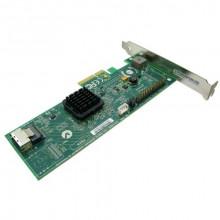 БУ RAID-контроллер LSI MegaRAID SAS 8204ELP, SAS, PCI-e x4, 3GB/S, 1x SFF-8087 (mini SAS)