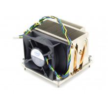 БУ Радиатор для процессора 2U Intel E97384-001, s1366, 90х90x64мм