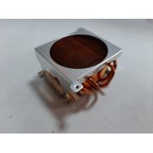 БУ Процессорный радиатор Dell, s775, 4 трубки, без креплений