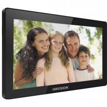 "Видеодомофон Hikvision DS-KH8520-WTE1 IP Video Intercom Indoor Station, 10"" (1024x600), DC 12В, PoE"