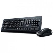Комплект Genius KM-160 Black Ukr (31330001419)