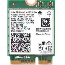 БУ WIFI Модуль NGFF Intel Wi-Fi 6 AX201 (2.4 Гбит/с, 2.4/5 GHz (160Mhz) 802.11ax, Bluetooth 5.2)