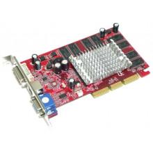 БУ Видеокарта AGP Palit GeForce FX5200, 128MB GDDR, 128 бит, 250/266, DVI, VGA, TV-out