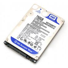 "БУ Жесткий диск 750 ГБ Western Digital (2.5"", 5400 об/мин, 8 МБ, SATAII, WD7500BPVT)"