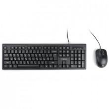 Комплект (клавиатура и мышь) Vinga KBS806, проводной, USB, черный