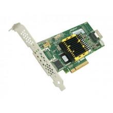 БУ RAID-контроллер Adaptec ASR-2405, SAS, PCI-e x8, 128mb, 3GB/S, 1x SFF-8087 (mini SAS)