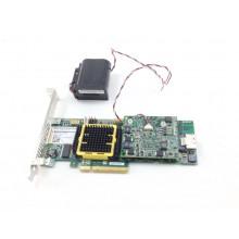 БУ RAID-контроллер Adaptec ASR-5405Z, SAS, PCI-e x8, 512mb, 3GB/S, 1x SFF-8087 (mini SAS)