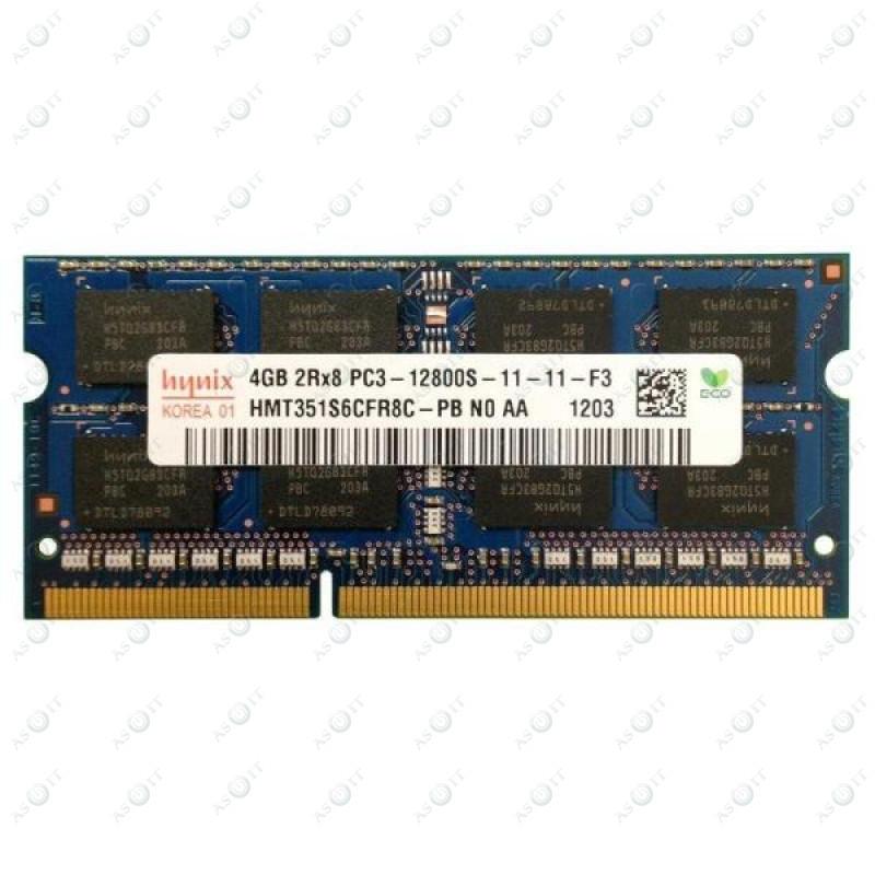 Оперативная память SK hynix (SO-DIMM, DDR3, 4Gb, 1600MHz, HMT351S6CFR8C-PB) Б/У