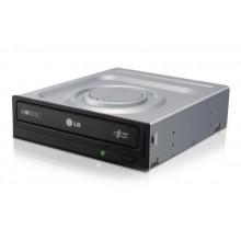 Оптический привод LG DVD-RW (SATA, GH24NSB0 Bulk, Black) Б/У