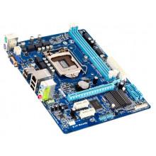 БУ Материнская плата GIGABYTE GA-H61M-S1 (LGA1155, 2хDDR3, 4xSATA, PCI-Ex16, 2xPCI-Ex1, mATX)