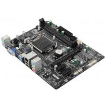 БУ Материнская плата Gigabyte GA-H81M-S1 (LGA1150, Intel H81, 4xSATA, PCI-Ex16, 2xPCI-Ex1, mATX)