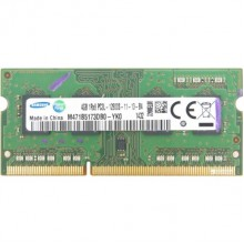 БУ Оперативная память Samsung (SO-DIMM, DDR3L, 4Gb, 1600MHz, M471B5173DB0-YK0)