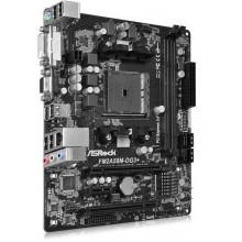 БУ Материнская плата ASRock FM2A58M-DG3+ (sFM2+, 4xSATA, 2xDDR3, PCI x16, PCI, VGA/ DVI, mATX)