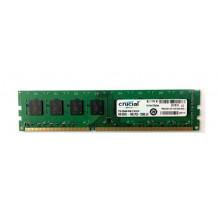 БУ Оперативная память Crucial  (DIMM, DDR3, 4Gb, 1600MHz, CT51264BA160B.C16FER2)