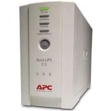 Источник бесперебойного питания (ИБП) APC Back-UPS CS 500VA (BK500-RS) Б/У