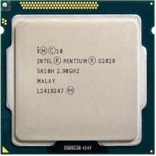 Процессор Intel Pentium Dual Core G2020 (S1155, 2,9Ghz, Cores - 2, BX80637G2020) Б/У