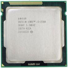 Процессор Intel Core i5-2500 (S1155/4x3.3GHz/5GT/s/6MB/95 Вт/BX80623I52500) Б/У