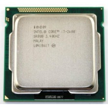 Процессор Intel Core i7-2600 (S1155/4x3.4GHz/5GT/s/8MB/95 Вт/BX80623I72600) Б/У