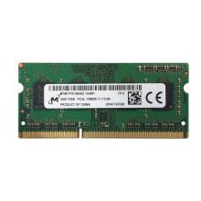 БУ Оперативная память 4 ГБ, SODIMM DDR3L, Micron (для ноутбуков, 1600 МГц, 1.35, MT8KTF51264HZ-1G6N1