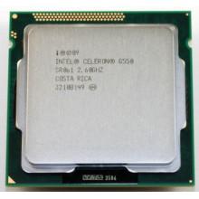 БУ Процессор Intel Celeron G550 (S1155/2x2.6GHz/5GT/s/2MB/65 Вт/BX80623G550)