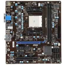 БУ Материнская плата MSI  A55M-P35 (sFM1, 6xSATA, 2xDDR3, VGA, DVI, mATX)