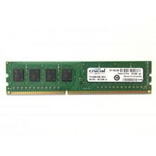 БУ Оперативная память Crucial  (DIMM, DDR3, 4Gb, 1600MHz, CT51264BA160BJ.C8FED)