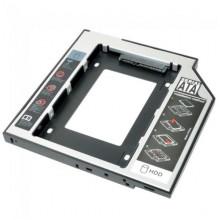 Карман для второго HDD/SSD вместо DVD (Optibay Caddy 9.5 мм)