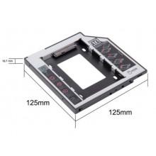 Карман для второго HDD/SSD вместо DVD (Optibay Caddy 12.7 мм) Б/У
