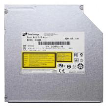 Оптический привод для ноутбука Hitachi-LG GU90N  ( SATA DVD-RW, Black, Slim, 9,5 мм ) Б/У