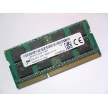 Оперативная память Micron (SO-DIMM, DDR3L, 8Gb, 1600MHz, MT16KTF1G64HZ-1G6E1) Б/У