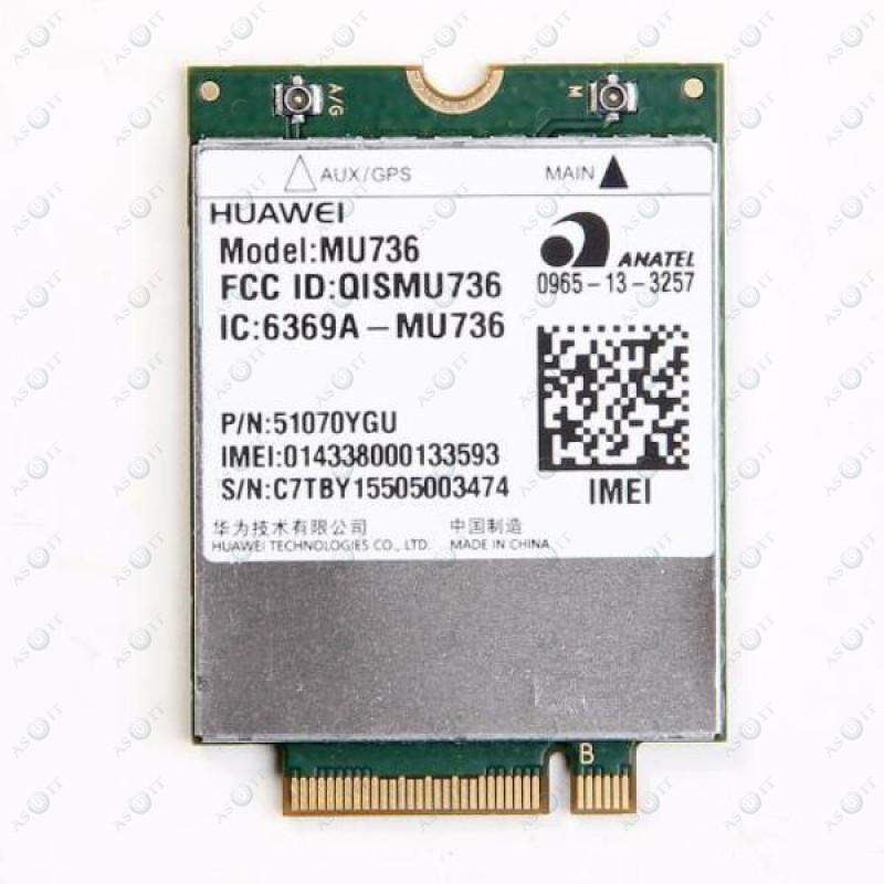 БУ Модем 3G Huawei MU736 (M.2, 3G/HSPA+ NGFF, GPS, WCDMA)