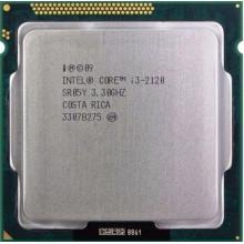 Процессор Intel Core i3-2120 (S1155/2x3.3GHz/5GT/s/3MB/65 Вт/BX80623I32120) Б/У
