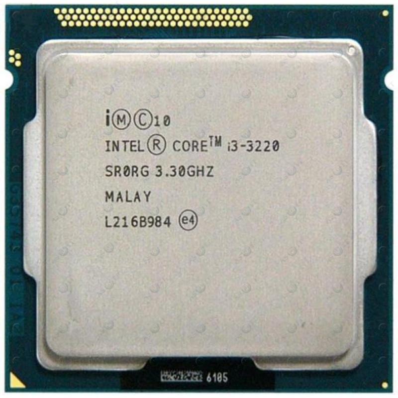 БУ Процессор Intel Core i3-3220 (S1155/2x3.3GHz/5GT/s/3MB/55 Вт/BX80637I33220)