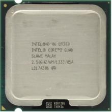 Процессор Intel Core 2 Quad Q9300, (S775/2.5GHz/1333MHz/95Вт/BX80580Q9300) Б/У