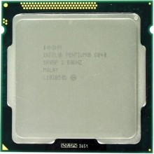 Процессор Intel Pentium Dual Core G840 (S1155/2x2.8GHz/5GT/s/1,5MB/65 Вт/BX80623G840) Б/У