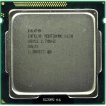 Процессор Intel Pentium Dual Core G630 (S1155/2x2.7GHz/5GT/s/3MB/65 Вт/BX80623G630) Б/У
