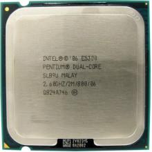 Процессор Intel Pentium Dual Core E5300 (S775/2x2.6GHz/2MB/65 Вт/BX80571E5300) Б/У
