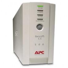 Источник бесперебойного питания (ИБП) APC Back-UPS CS 500VA (BK500EI) Б/У