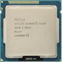 Процессор Intel Celeron G1620 (S1155/2x2.7GHz/5GT/s/2MB/55 Вт/BX80637G1620) Б/У