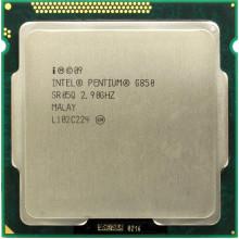 Процессор Intel Pentium Dual Core G850 (S1155/2x2.9GHz/2.5GT/s/3MB/65 Вт/BX80623G850) Б/У